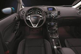 Ford Fiesta 2013 : habitacle